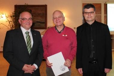 VFw Andre Gehrke, VFw Helmut Kolanowski, Hptm Kai Wollenweber (von links)