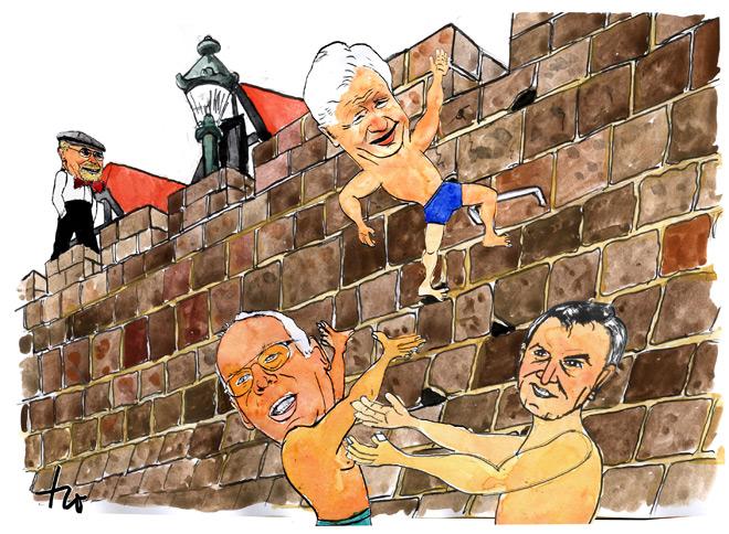 Karikatur von Klaus Holthaus
