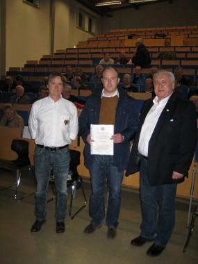 von links: Hauptmann und Kompaniechef Dr. Dirk von Behren, Unteroffizier Sascha Mohe, Kompanie-Feldwebel Eugen Gawelczyk