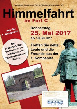 Als reizvolles Ausflugsziel präsentiert sich am Himmelfahrtstag das historische Fort C mit einem Tag der offenen Tür